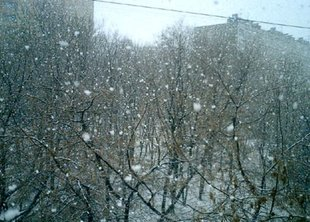 На майских праздниках в Питере ожидается снег