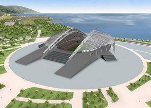 Озеленение олимпийских объектов начнется в этом году