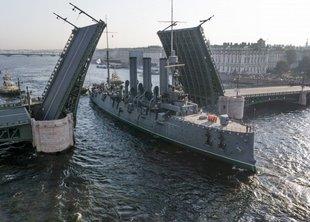 Возвращение крейсера «Аврора»